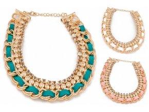 Zlatý náhrdelník chain