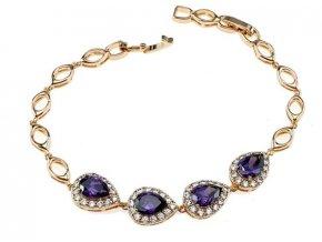 Masívny zlatý náhrdelník gold beauty