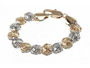 Masívny zlatý náhrdelník gold figured