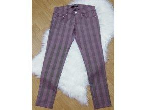 Dámske kárované nohavice