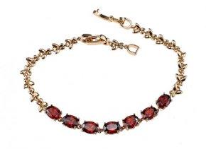 Masívny náhrdelník crystal elegance