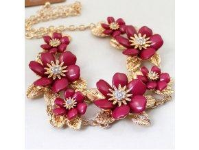 Náhrdelník flowers XL