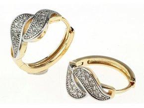 Dámske zlaté náramky 34049
