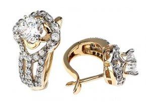 Zlaté perlové náušnice for you