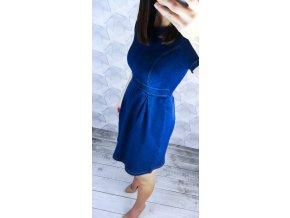 sukienka midi chabrowa cm102