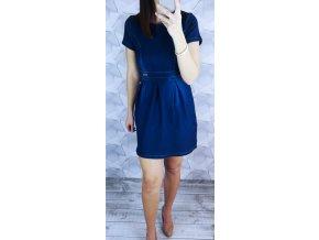 Áčkové riflové šaty style