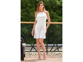 Dámske letné šaty kinga 7671 biele