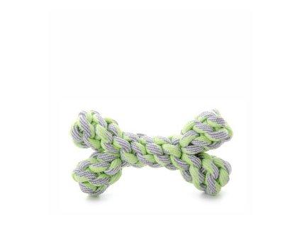 45994 1 jk animals bavlnena kost 20 cm zelena 0