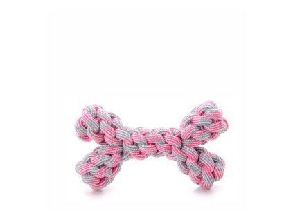 45994 2 jk animals bavlnena kost 20 cm ruzova 0