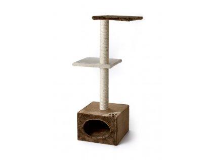 59722 1 jk animals skrabadlo pro kocky venus 57 42 109 cm bezova hneda 1