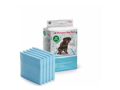 48831 jk animals premium dog pads podlozky pro stenata a psy 60 60 cm 10 ks 0