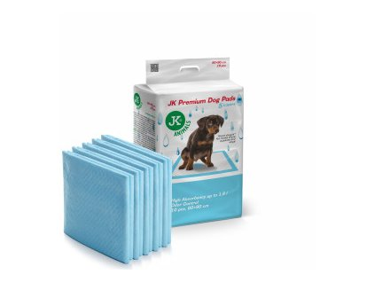 48833 jk animals premium dog pads podlozky pro stenata a psy 60 90 cm 10 ks 0