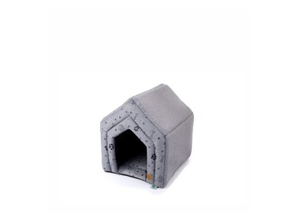 45872 6 jk animals pelech domek grey lux m 0