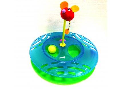 Interaktivní hračka pro kočky 31 cm
