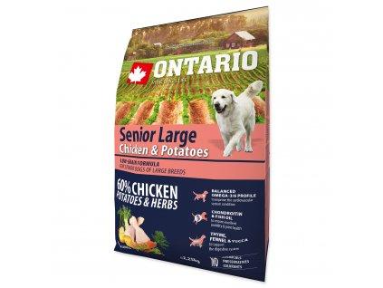ONTARIO Senior Large Chicken & Potatoes & Herbs (2,25kg)