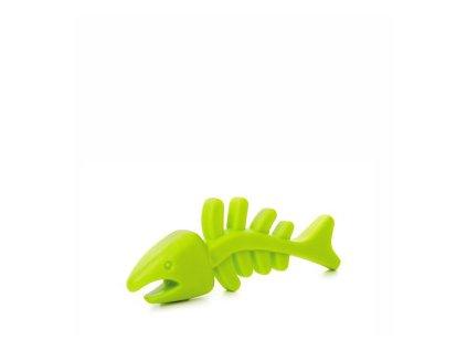 45967 1 jk animals tpr rybi kost 12 cm zelena 0