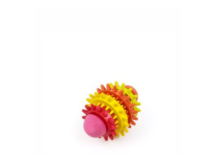 46224 jk animals hracka tvrda guma ragby dental mini 8 cm 0