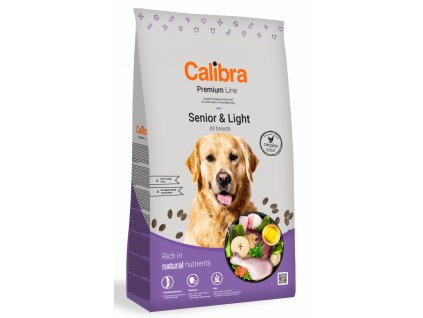 Calibra Dog Premium Line Senior&Light 3 kg NEW
