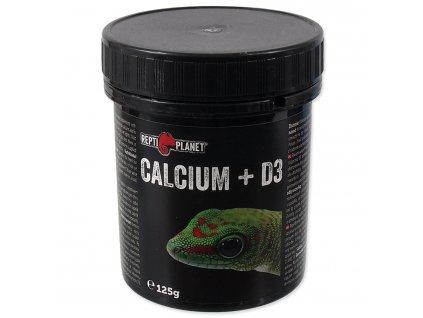 REPTI PLANET krmivo doplňkové Calcium + D3 (125g)