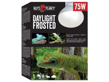 Žárovka REPTI PLANET Daylight Frosted (75W)