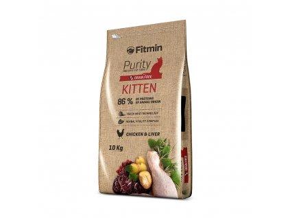 Fitmin Purity Kitten kompletní krmivo pro koťata 10 kg