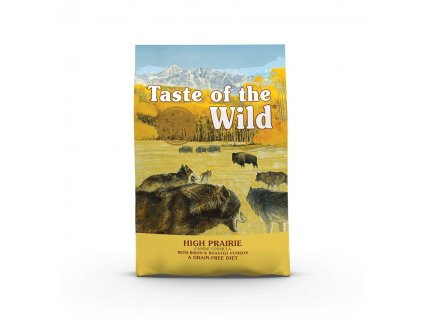 Taste of the Wild High Prairie Canine 2 x 12,2kg
