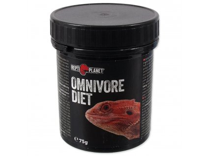 REPTI PLANET krmivo doplňkové Omnivore diet (75g)