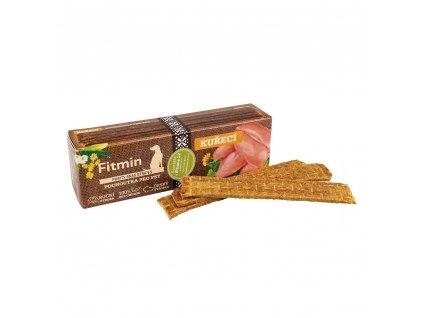Fitmin Purity Snax Stripes Kuřecí pochoutka pro psy 35 g