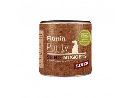Fitmin Purity Snax Nuggets Játrová pochoutka pro psy 180 g