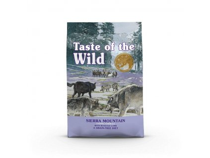 Taste of the Wild Sierra Mountain Canine 2 x 12,2kg
