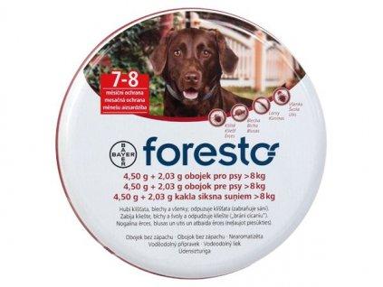 462 medium obojek bayer foresto pro psy 70 cm