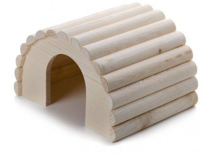 32437 jk animals drevene domky masiv pro hlodavce iglu morce 23 17 14 cm 1