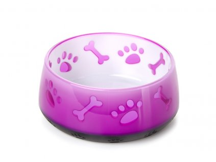 48335 3 jk animals plastova miska pro psy pr 10 5 cm 300 ml ruzova 1