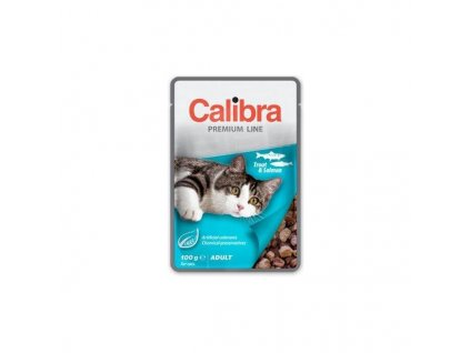calibra cat kapsa premium adult trout salmon 100g 964683 5