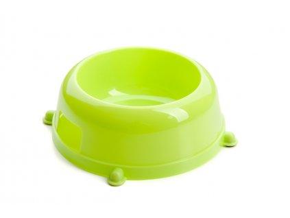 48321 5 jk animals plastova miska pro psa c 1 pr 13 cm zelena 1