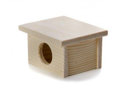 32432 jk animals drevene domky masiv pro hlodavce myska 9 8 7 cm 1