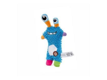 46105 3 jk animals plysova hracka monster mop 28 cm modry 0