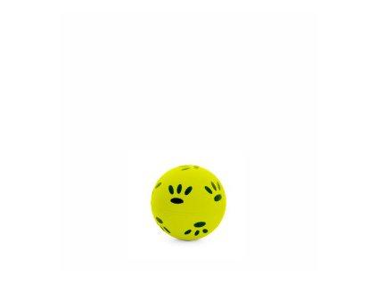 46002 2 jk animals gumovy micek tlapky 5 7 cm zluty 0
