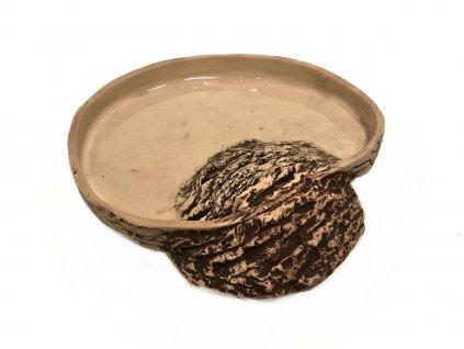 TeraZOO natur miska pro želvu s nálezem 20cm