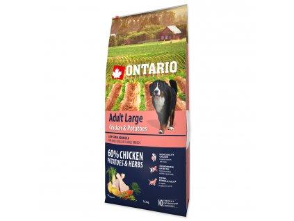 Ontario Adult Large Chicken & Potatoes & Herbs 12kg