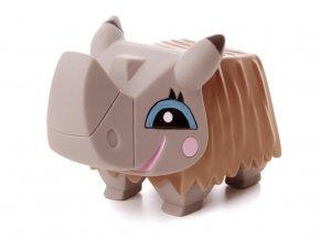 46455 jk animals piskaci vinylova hracka nosorozec 11 cm 1