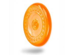 45961 2 jk animals tpr letajici talir oranzova 23 cm 0