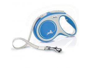 Flexi vodítko Comfort L pásek 5m/60kg modrá