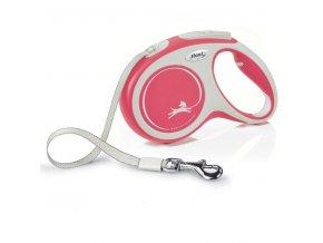 Flexi vodítko Comfort L pásek 5m/60kg červená