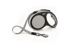 Flexi vodítko Comfort L pásek 5m/60kg šedá