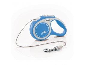 Vodítko Flexi Comfort XS lanko 3m/8kg modrá