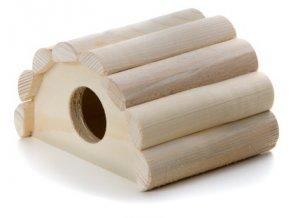 32435 jk animals drevene domky masiv pro hlodavce iglu myska 13 11 7 5 cm 1