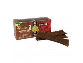 Fitmin Purity Snax Stripes Hovězí pochoutka pro psy 120 g