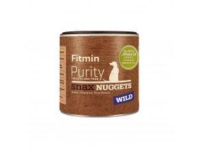 Fitmin Purity Snax Nuggets Zvěřinová pochoutka pro psy 180 g