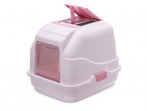 Kočičí toaleta EASY CAT růžová